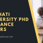 Gauhati University PhD Entrance